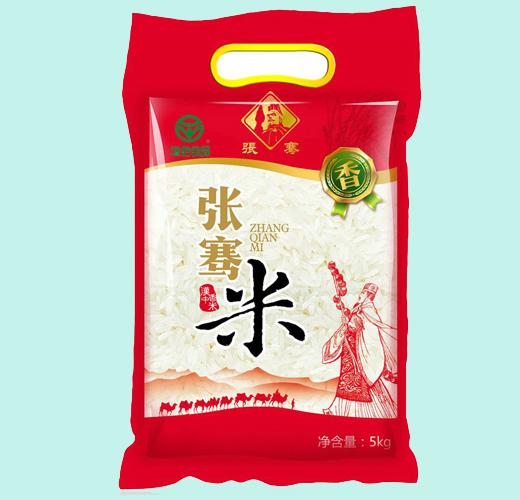 张骞臻品香米5kg包装